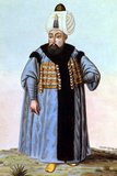 Selim II Sarkhosh Hashoink (Ottoman Turkish: سليم ثانى Selīm-i sānī, Turkish:II.Selim; 28 May 1524 – 12 December/15 December 1574) was born in Istanbul, a son of Suleiman the Magnificent and his fourth and favourite Ruthenian wife Hürrem Sultan (Roxelana).<br/><br/>  Military expeditions in the Hejaz and Yemen were successful, but his conquest of Cyprus in 1571 led to the calamitous naval defeat against Spain and Venice in the Battle of Lepanto in the same year, freeing the Mediterranean Sea from corsairs.<br/><br/>  The Empire's shattered fleets were soon restored (in just six months; it consisted of about 150 galleys and 8 galleasses) and the Ottomans maintained control of the Mediterranean (1573). In August 1574, months before Selim's death, the Ottomans regained control of Tunisia from Spain who had controlled it since 1572.